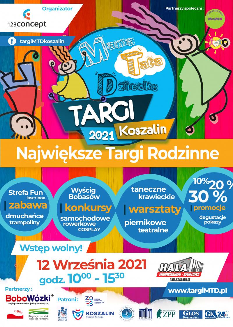 plakat_Targi _MTD_2021_nowy