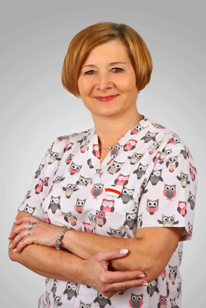 Janina Frączek_Położna namedal