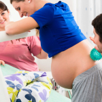 Ból porodowy_kampania Położna na medal
