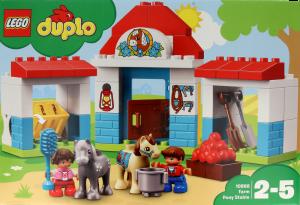 Lego Duplo Stajnia zkucykami 2 – 5 lat