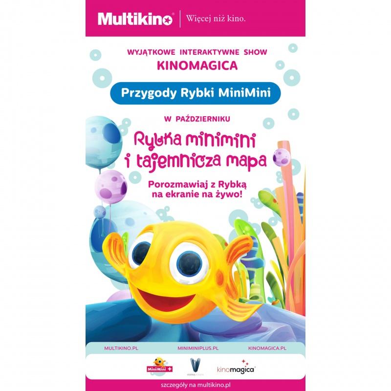Interaktywne show z Rybką MiniMini