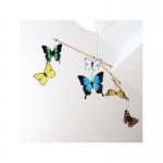 Karuzela Mobil Montessori motyle