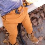Spodnie baggy dla chłopca idziewczynki