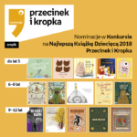 Nominacje Przecinek iKsiążka 2018