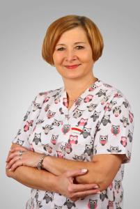 Janina Frączek położna