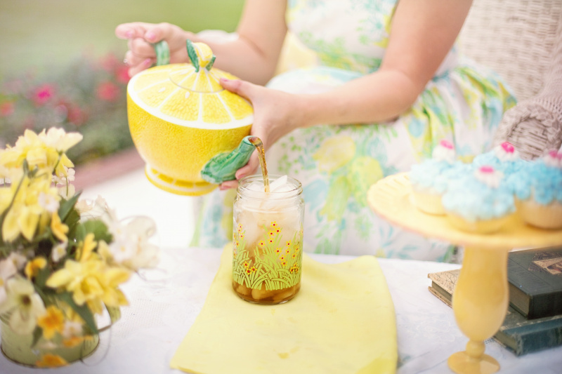 person_summer_drink_tea_42322