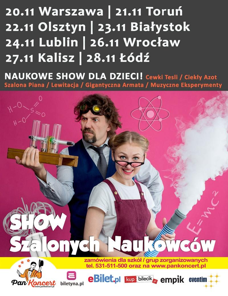 Show Szalonych Naukowców