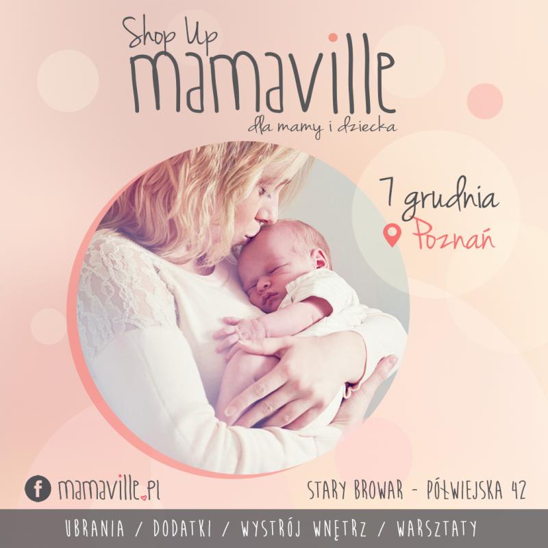 Targi Mamaville POZ04 - baner sm kwadrat